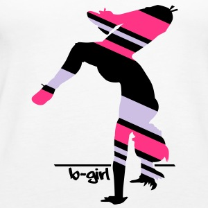 B-Girl Freeze Silhouette   Tops - Frauen Premium Tank Top