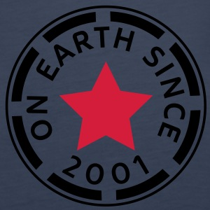 on earth since 2001 (no) Topper - Premium singlet for kvinner