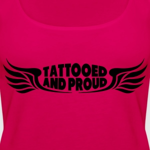 Tattooed and Proud - Wings Tops - Frauen Premium Tank Top
