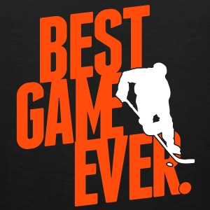 ice hockey - best game ever T-shirts - Herre Premium tanktop