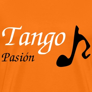 Man T-shirt Tango Musical Note - Men's Premium T-Shirt