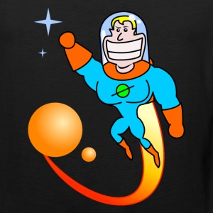 Space Hero T-shirts - Mannen Premium tank top