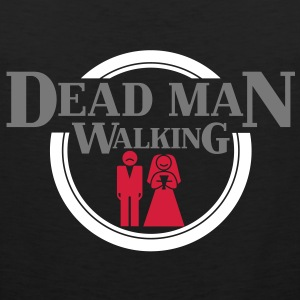 Dead Man Walking T-shirts - Mannen Premium tank top