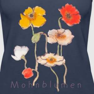 Mohnblumen by Anima - Frauen Premium Tank Top