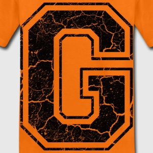 Letter G in the grunge look Kids' Shirts - Kids' Premium T-Shirt