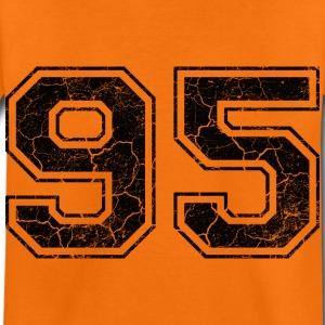 Number 95 in the grunge look Kids' Shirts - Kids' Premium T-Shirt