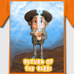 EN Return Of Rabbi Shalom Shirts - Kids' Premium T-Shirt