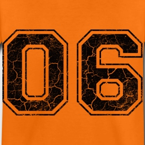 Number 06 in the grunge look Kids' Shirts - Kids' Premium T-Shirt