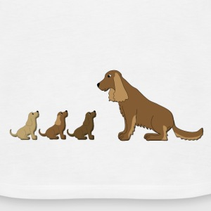 dogs family Tops - Women's Premium Tank Top