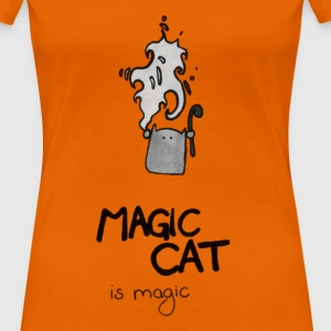 Magic Cat is magic - Frauen Premium T-Shirt