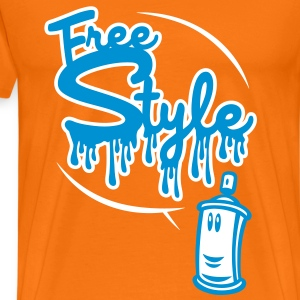 Freestyle (2 couleurs) - T-shirt Premium Homme