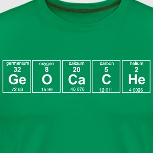 Geocache Periodic Elements T-Shirts - Men's Premium T-Shirt