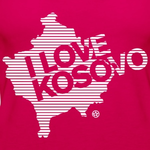I LOVE KOSOVO - Frauen Premium Tank Top