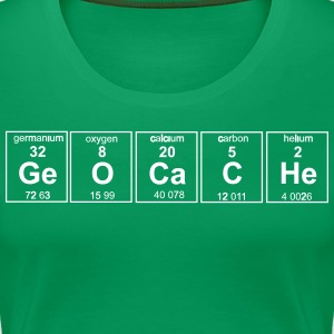 Geocache Periodic Elements T-Shirts - Women's Premium T-Shirt