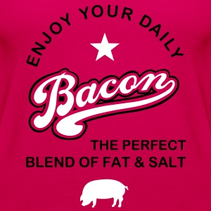 Bacon 2C Tops - Women's Premium Tank Top