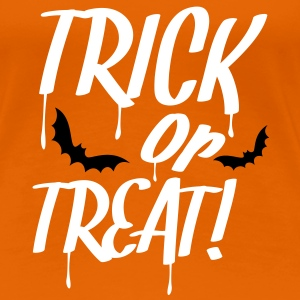 trick_or_treat_2c T-skjorter - Premium T-skjorte for kvinner