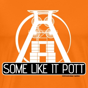 Some Like It Pott - white - Männer Premium T-Shirt