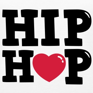 I heart Hip Hop Tops - Frauen Premium Tank Top