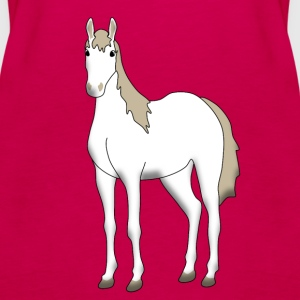 Horse 2 Tops - Women's Premium Tank Top