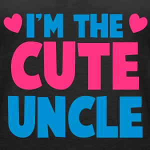 I'm the cute uncle! Tops - Women's Premium Tank Top