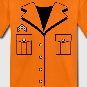 Military Dress T-shirts - Teenager premium T-shirt