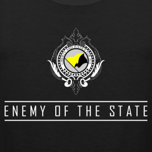 Enemy of the State - AnCap Muskelshirt - Männer Premium Tank Top