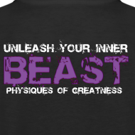 Design ~ Beastmode Beast Purple TANK