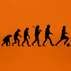 evolution of football T-Shirts - Women's Premium T-Shirt