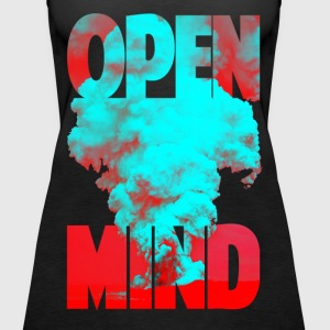 OPEN MIND Tops - Frauen Premium Tank Top