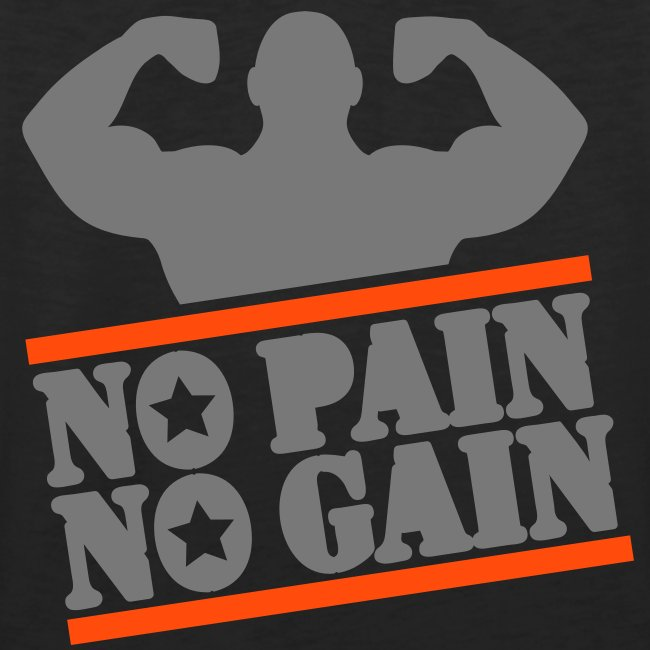 No Pain, No Gain Tank Top