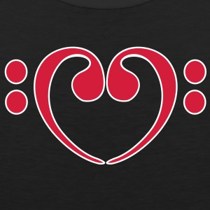 Bass Love Clef T-Shirts - Men's Premium Tank Top