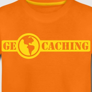 Geocaching - 1color - 2011 Camisetas - Camiseta premium niño
