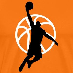 basketball player T-shirts - Premium-T-shirt herr