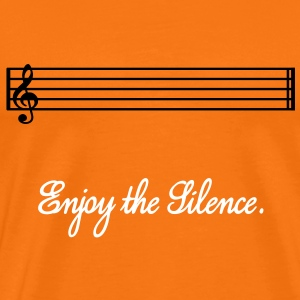 Enjoy the silence - Men's Premium T-Shirt