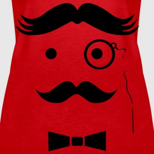 Very Wicked Uncle Moustache Tops - Women's Premium Tank Top