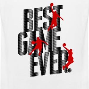 Basketball - best game ever T-shirts - Herre Premium tanktop