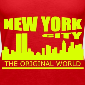 new york city Tops - Women's Premium Tank Top