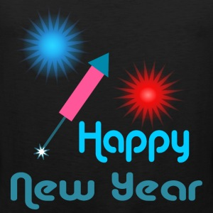 Happy New Year T-Shirts - Men's Premium Tank Top