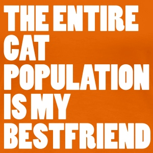Entire Cat Population  Tee shirts - T-shirt Premium Femme