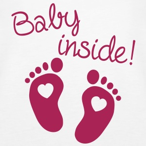 Baby Inside Topper - Premium singlet for kvinner
