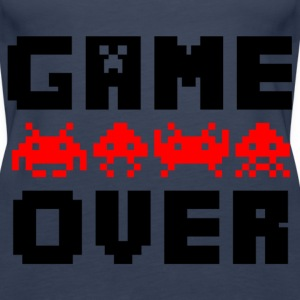 game over Tops - Women's Premium Tank Top