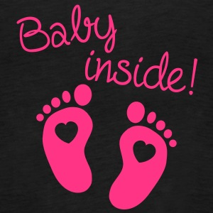 Baby Inside Tops - Women's Premium Tank Top