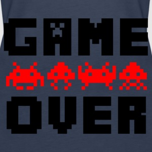 game over Tops - Frauen Premium Tank Top
