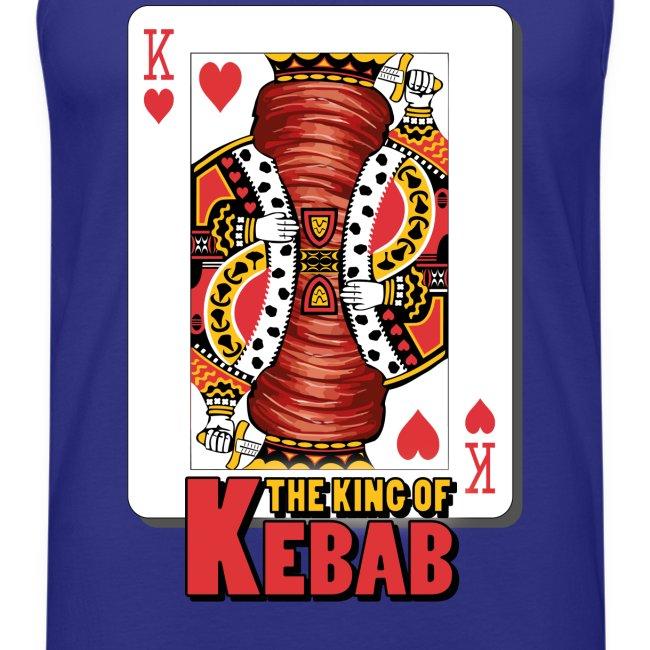 T-Shirt smanicata The King of Kebab