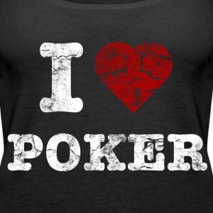 i_love_poker_vintage_hell Topper - Premium singlet for kvinner