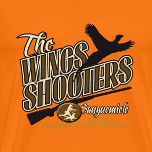 the_wings_shooters Camisetas - Camiseta premium hombre