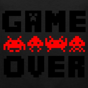 game over T-shirts - Herre Premium tanktop