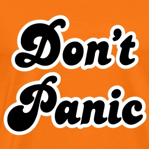 Don't Panic T-Shirts - Men's Premium T-Shirt