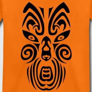 masque maori tribal tattoo12 ethnique Tee shirts - T-shirt Premium Enfant