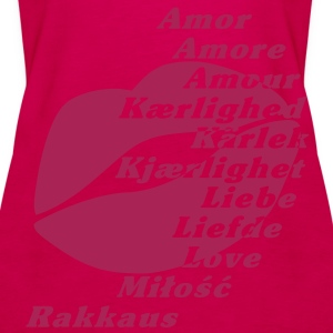 Euro Love__V003 Topper - Premium singlet for kvinner